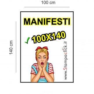 Stampa Manifesti 100x140