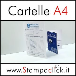 Stampa Cartelle