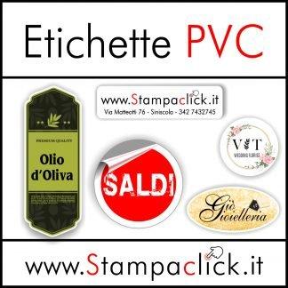 Etichette PVC